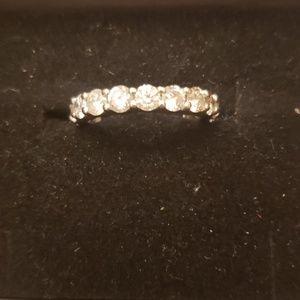 Jewelry - 2cttw genuine diamond 14kt white gold and diamonds